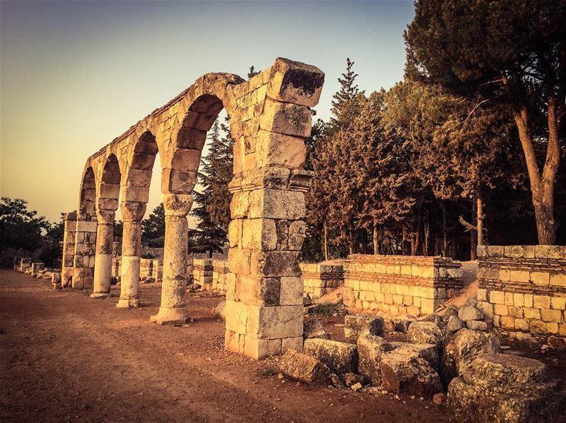 lebanon tourism ... (Anjar_Anjar Castle)