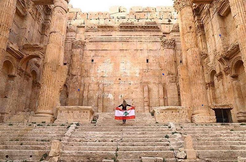 بحبك يا لبنان يا وطنيBy @micha.hajjmoussa via @livelove.baalbeck...