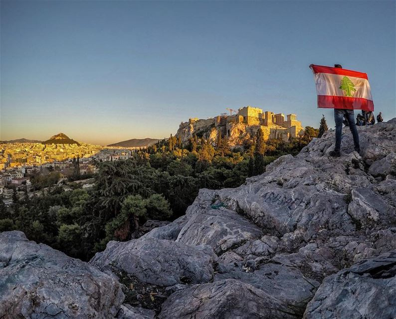 Always shining bright and rising up against all odds! From Athens, Happy... (Acropolis of Athens)