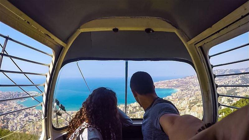 Good Morning BeautifulLebanon! 🌤 HappySunday Harissa Repost @ray_azzi... (Harîssa, Mont-Liban, Lebanon)