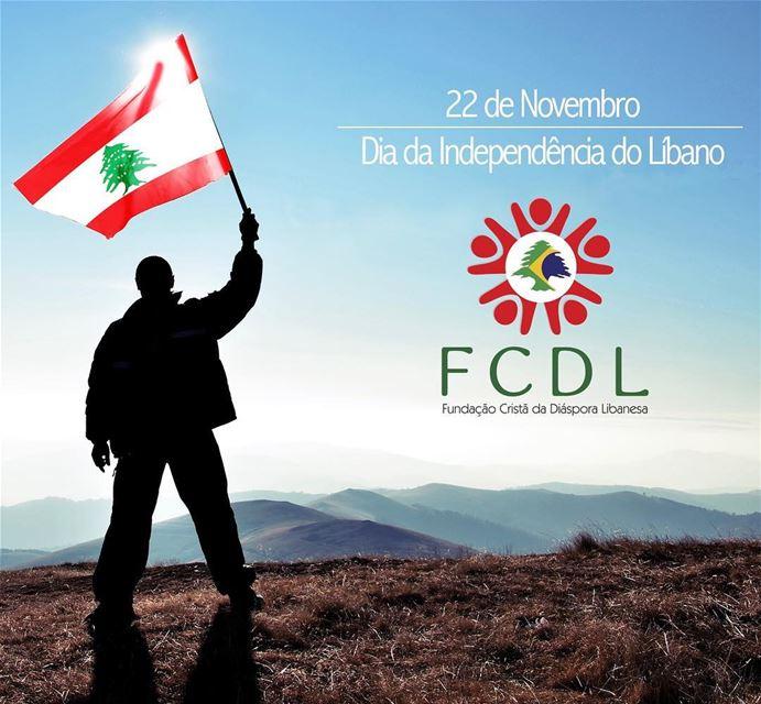 🇱🇧 Pelo orgulho do sangue libanês que corre em nossas veias e pela...