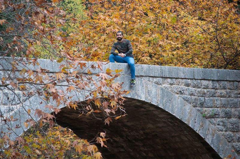 على جسر اللوزية؟ 🤔______________________________________وادي الصليب