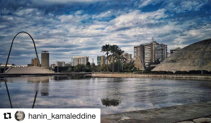 Repost @hanin_kamaleddine (@get_repost)・・・بحبك يا لبنان, happy... (Rachid Karami International Fair)