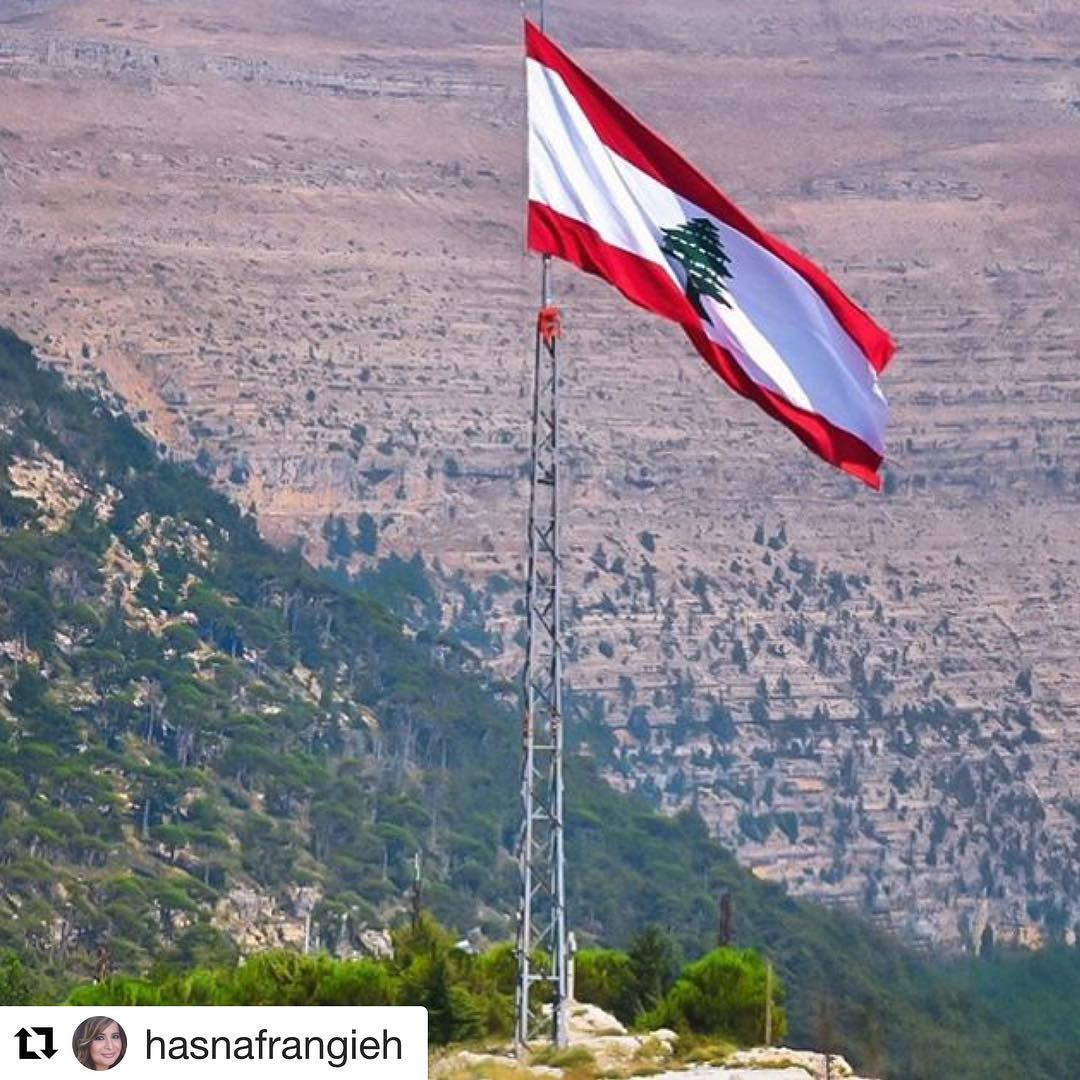 @hasnafrangieh (@get_repost)・・・عَ تلالَك عَ جبالَكرَعكت وصلّيتهون السما (Ehden, Lebanon)