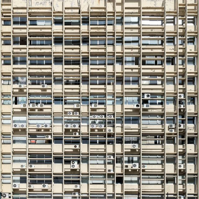 | Concorde Square |... Beirut architecture facade pattern ... (Beirut, Lebanon)