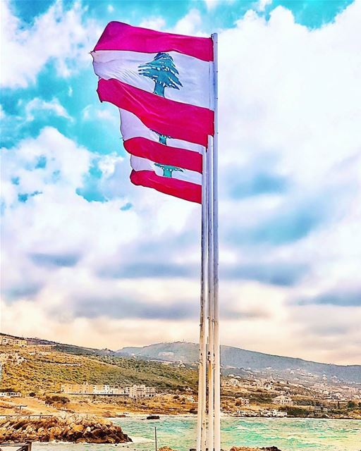 Raise those flags up high Lebanon!!!  loudandproud  happyindependenceday 🇱