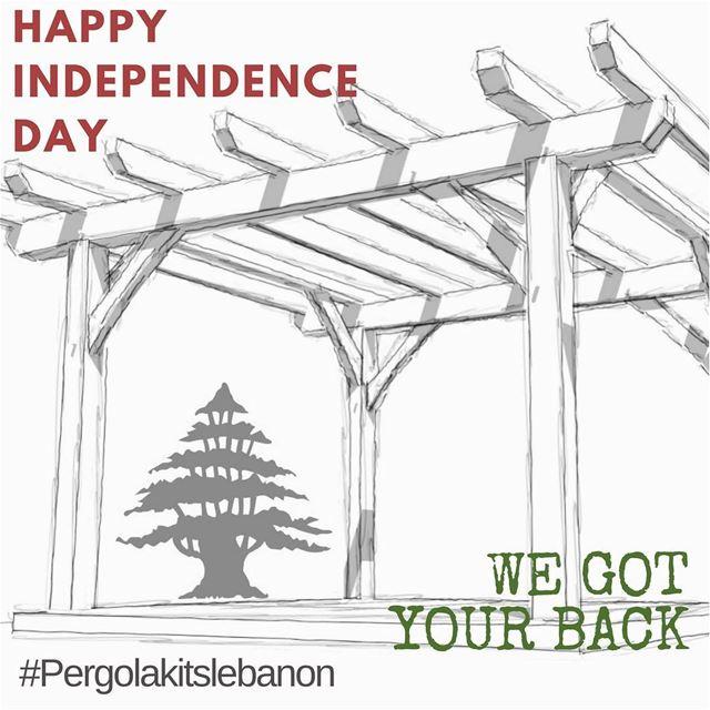 We Got You Covered!Happy Independence Day🇱🇧 PergolaKitsLebanon ... (Lebanon)