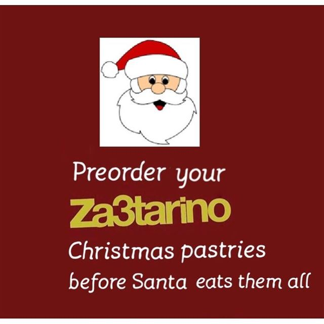 PreOrder your Christmas🎄 Pastries before Santa 🎅🏻 🤶🏻eats them all😉 😀