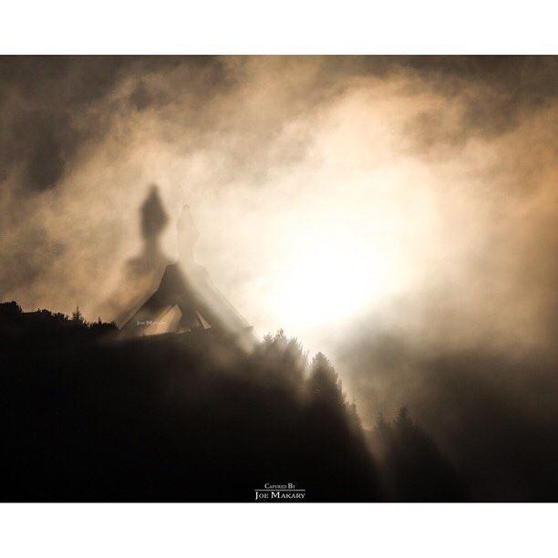 عندما تعزف الطبيعة أجمل سمفونياتها في إهدن ehden fog clouds sun ...
