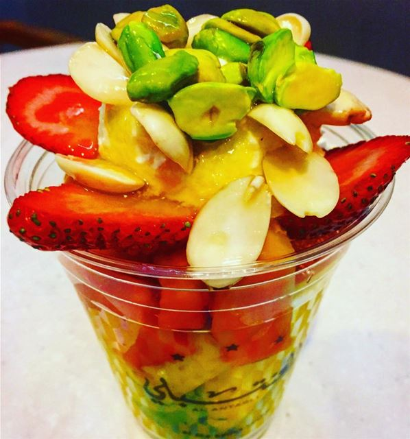 fruits  fruitsalad  foodphotography  foodstyling  foodinsta  foodnetwork ... (Beirut Souks)