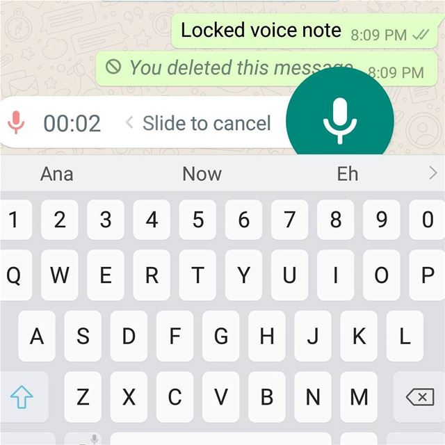 Are you tired from repeating the same voice note because of accidentally... (Downtown Beirut)