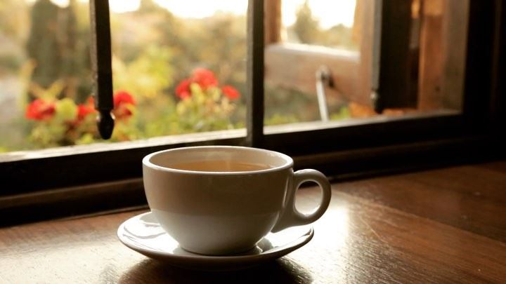 Tea: a hug in a cup  tea time sunset hug beautiful view... (Locanda A La Granda)