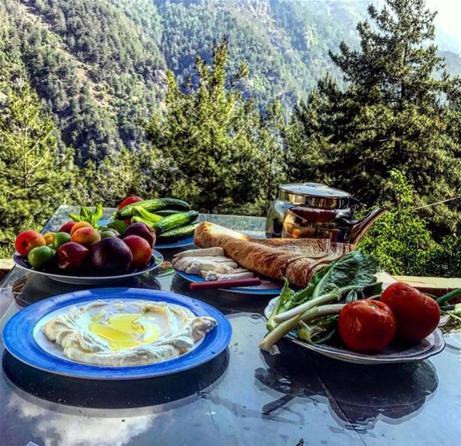 I want something just like this 🌼🤩📸 @mon_eclat  morning breakfast... (Uphill Chouwen)