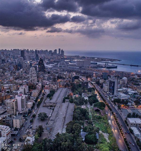 Nature 🌳vs🏢 Urban... lebanon beirut dji drones quadcopter ... (Beirut, Lebanon)