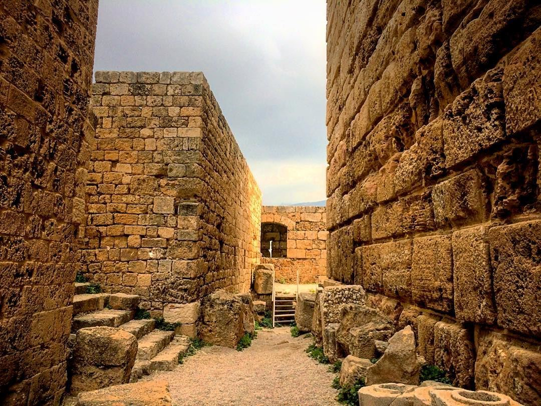 We do not remember days, we remember moments. ~Cesare Pavese~ 🏛... (Byblos Castle)