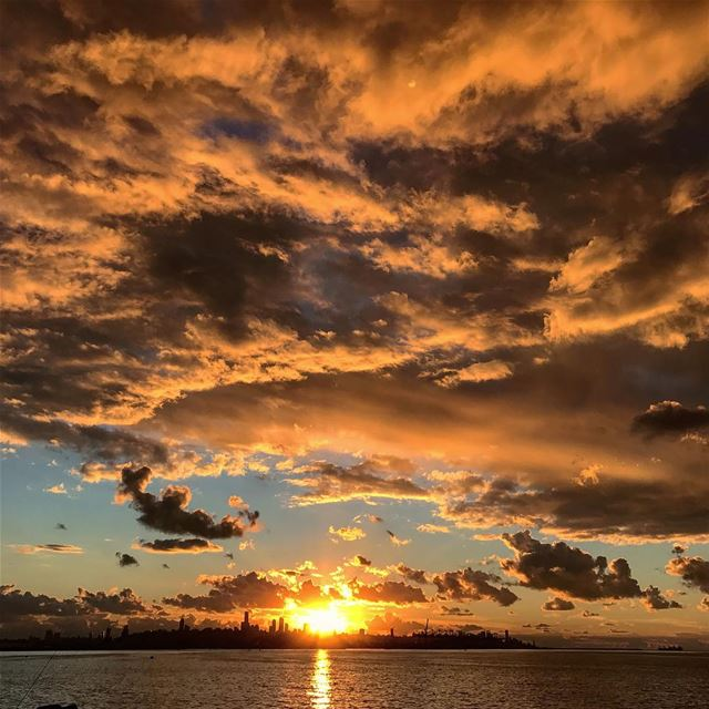 instagood like4like photooftheday love beautiful sunset ... (Beirut, Lebanon)