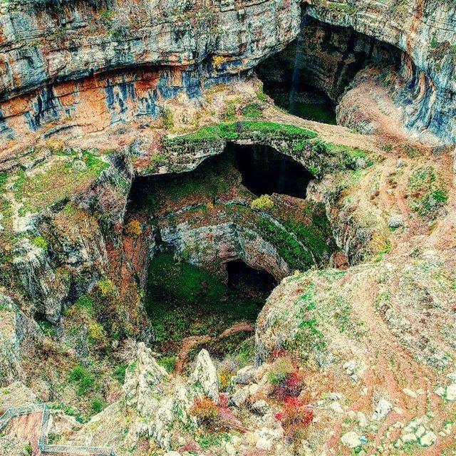 The wonder of Balou' Balaa 📍 lebanon lebanon_hdr tanourin cave ... (Bâloûaa Balaa)