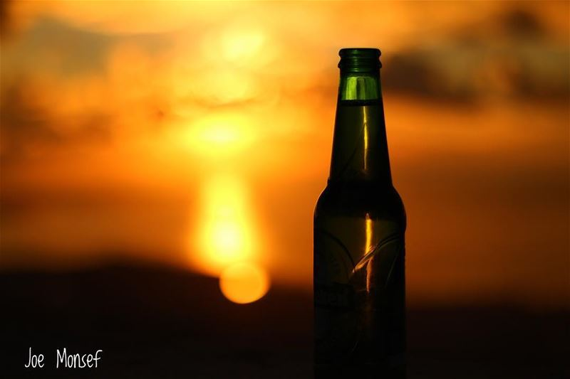 beer drinks sunset lebanon sroud photography photographer ...
