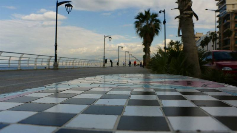 Corniche Chess for Weekend.. lebanontimes lebanon_hdr hd_lebanon ... (Beirut, Lebanon)