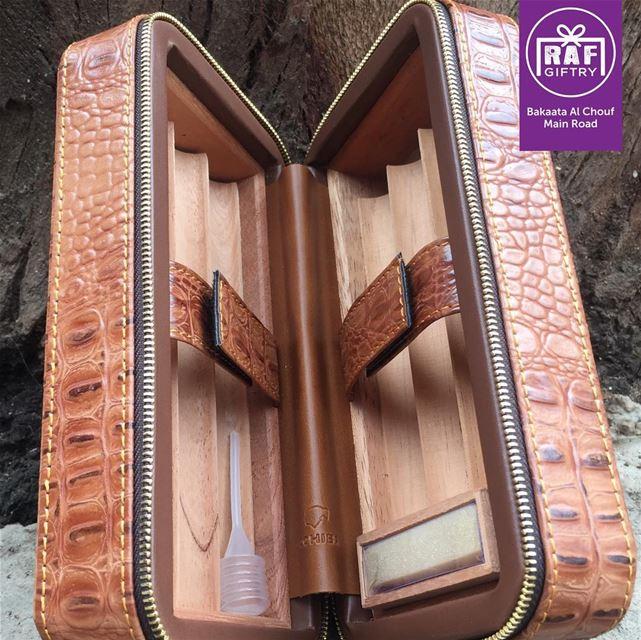 Keep your cigar fresh & safe 📦 raf_giftry........... cigar ... (Raf Giftry)