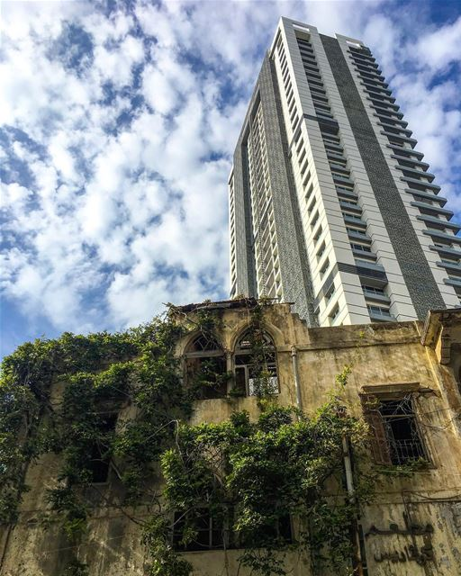 Beirut the city of contrasts! Which part of the city do you prefer: The ... (Beirut, Lebanon)