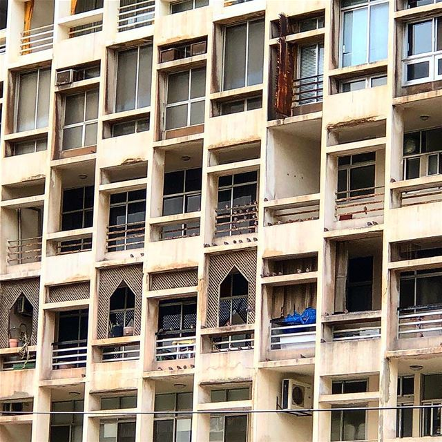 Perfect imperfection architecture windows beirut beyrouth ... (Beirut, Lebanon)