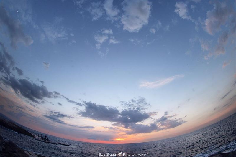 U N I V E R S E 💫 longtime bobsadekphotography sky sea clouds autumn... (Ar Rawshah, Beyrouth, Lebanon)