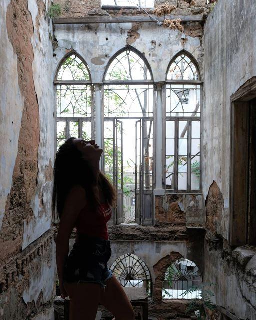 ~ Abandoned ~... abandoned heritage abandonedplaces ... (Beirut, Lebanon)