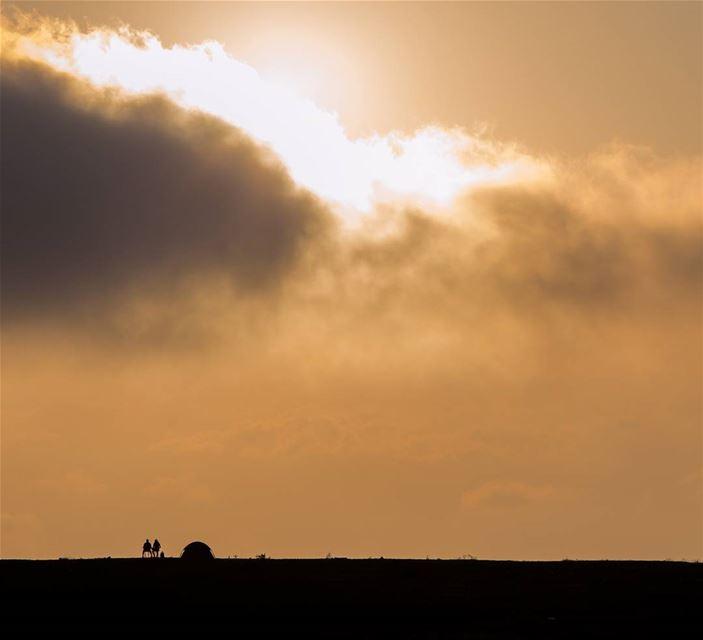 No cloud is so dark that the sun can't shine through............. (Ghbalé, Mont-Liban, Lebanon)