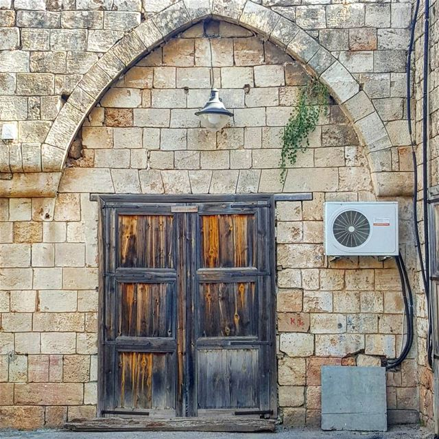 Something old, something new 🍂💙 ...... Lebanon Batroun ...
