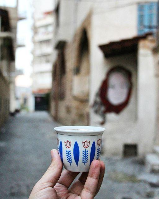 ☕ القهوة قبل البونجور... (Al Mina', Liban-Nord, Lebanon)