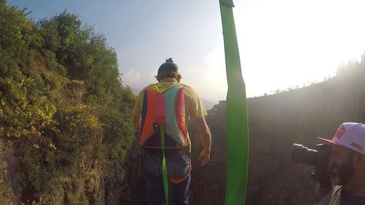 This just a teaser for another awesome BASE jump by @sketchyandylewis,... (Lebanon)
