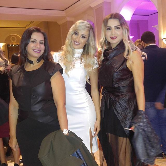 With lovely ladies dialeb galadinner diabetes diabetesawareness ... (Phoenicia Hotel Beirut)