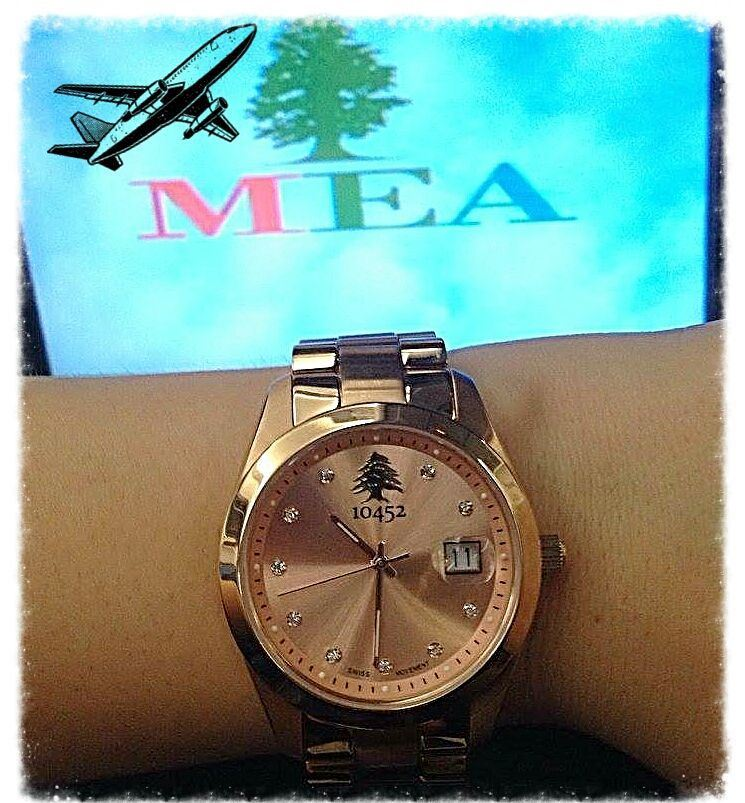 Hey who is counting the days hours & minutes to take the MEA flight... (Beirut, Lebanon)