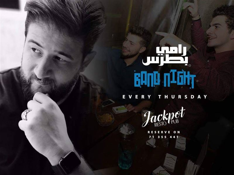It's tonight!! Rami M Boutros will take on the stage at Jackpot - Jounieh...