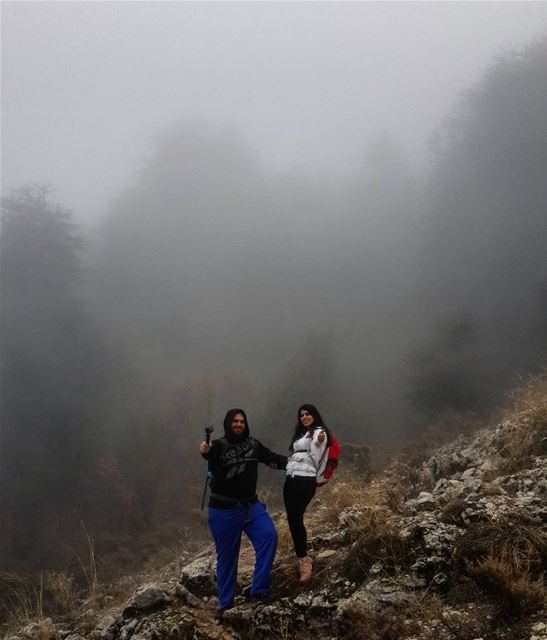 hiking in the creepy forest lebanon outdoorpeople mountainaddict ...