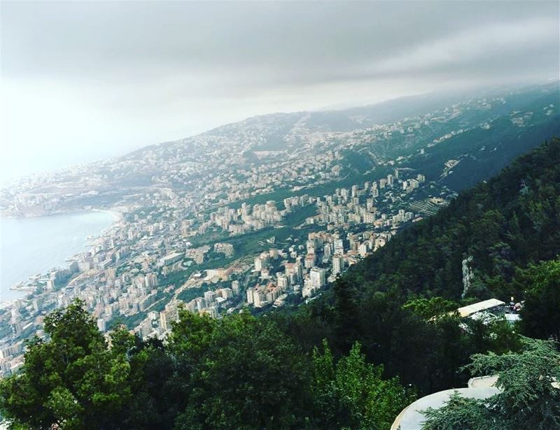Photography by chantal nicolas harissa view mountains livelovelebanon ... (Harîssa, Mont-Liban, Lebanon)