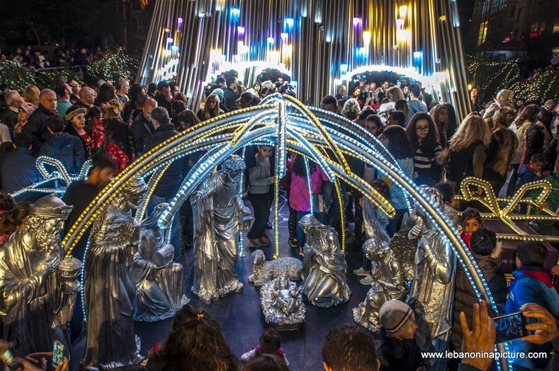 Byblos Christmas Tree 2017 (Byblos - Jbeil)