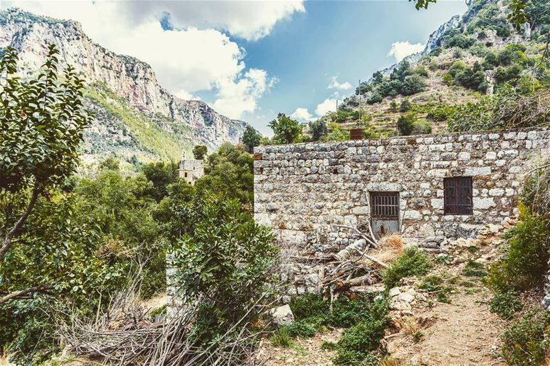 Location : Wadi Qannoubine, Lebanon earthpix earthofficial ... (Wadi Qannubin, Liban-Nord, Lebanon)