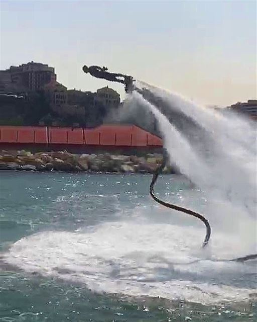 Make it a December to Remember  flyboard  flyboardlebanon  whatsuplebanon ... (Joünié)