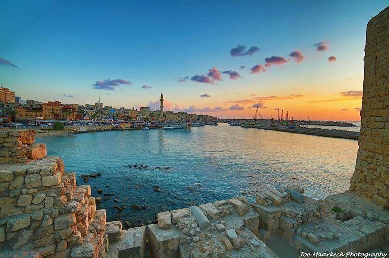 My Lebanon... saida ( sidon ). saida sidon lebanon sea view oldcity ...