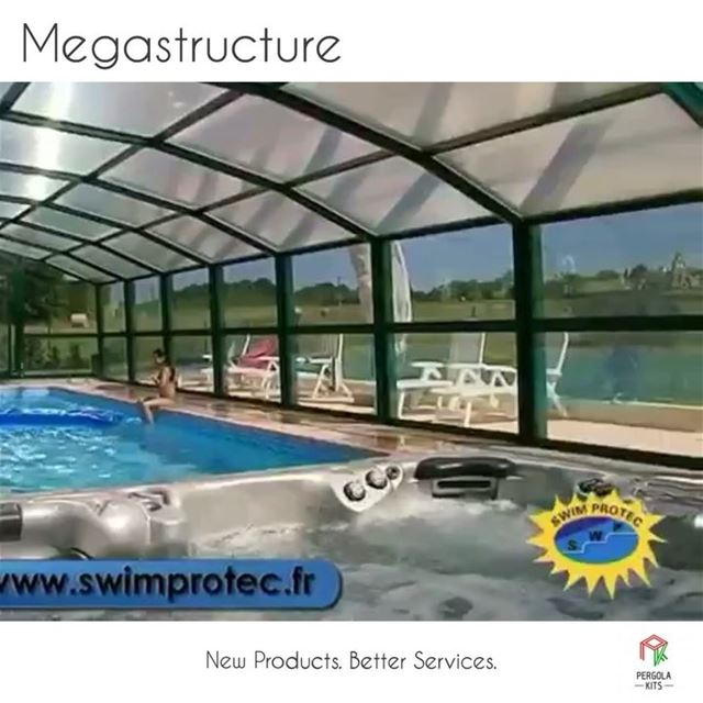 """New From PergolaKitsLebanon""""Megastructure Pergolas"""". Pergola ... (Lebanon)"""