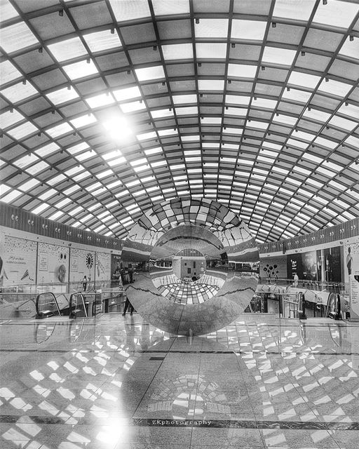 Let the beauty of what you love be what you do. *Rumi * bnw ... (Doha Festival City)