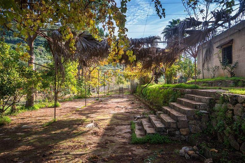 Around the convent lebanon ...