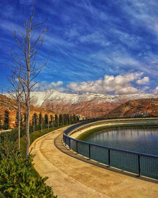 Zaarour Lake mountains lebanon outdoor outdoors squad hdr wow amazing... (Zaarour Club)