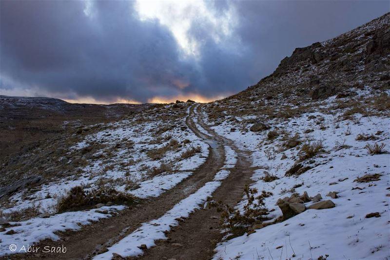 The Long Road to an Uncertain Destination Lebanon kfardebian faraya ... (Lebanon)