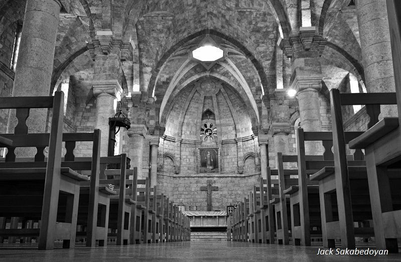 Batroun St. George Church Batroun batroon stgeorgechurch blackandwhite...