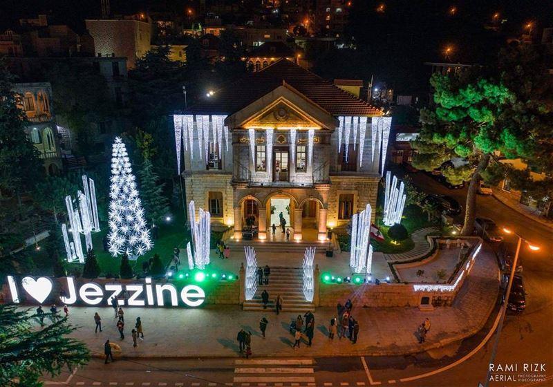 Jezzine Tonight 🎄... jezzine lebanon dji drones quadcopter ... (Jezzine District)
