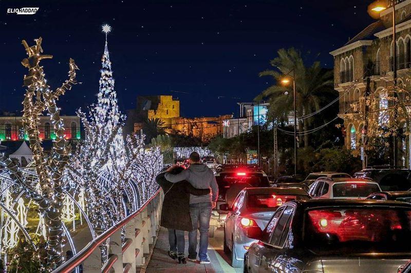 ChristmasTime Jbeil Byblos Lebanon Christmastree Christmasdecoration...
