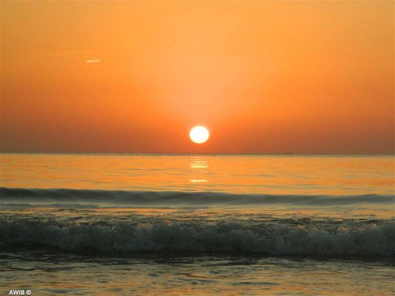sun sunset sky colors photography photographer photooftheday ... (Ramlat Al Bayda', Beyrouth, Lebanon)